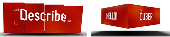 Exemples de transitions 3D