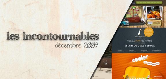 Les incontournable Décembre 2009