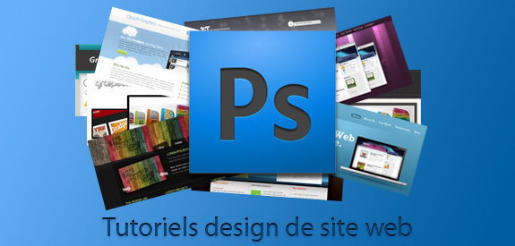 Tutoriels de site web sous Photoshop