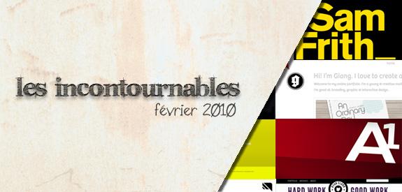 Les Incontournable Fev 2010