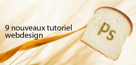 Tutoriels webdesign