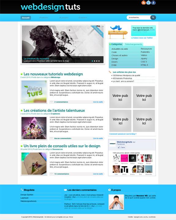 Design de blog