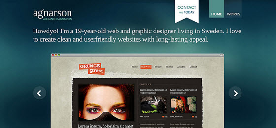 l 39 emploi de sliders dans le webdesign webdesigner trends. Black Bedroom Furniture Sets. Home Design Ideas
