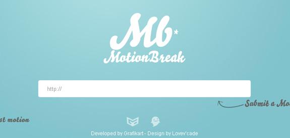 Motion Break