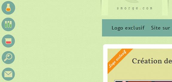 Tendance du webdesign - Elements Circulaires