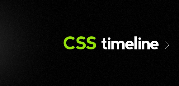 CSS Timeline