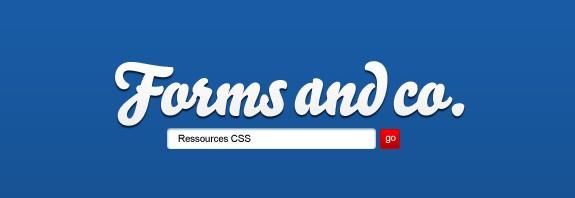 Formulaire Ressources CSS