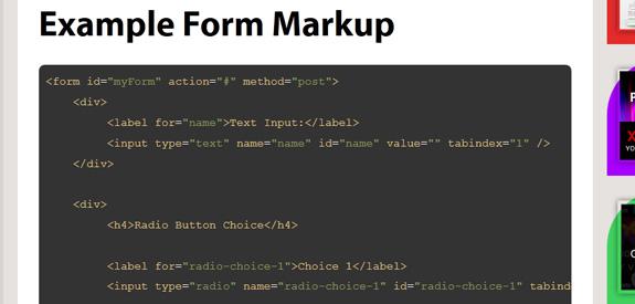 CSS Ressources formulaires