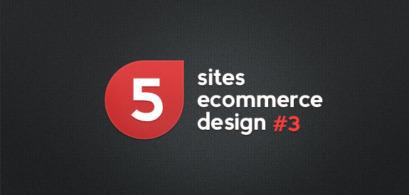 5 sites ecommerce design