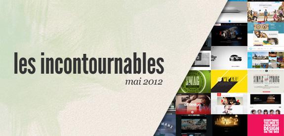 Les incontournables de mai 2012