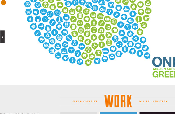 Webdesign inspiration mai 2012