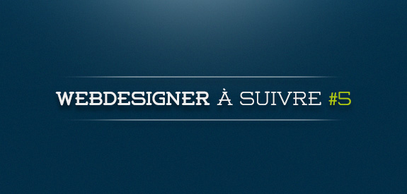 Webdesigner à suivre