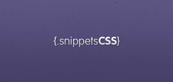 Snippets CSS