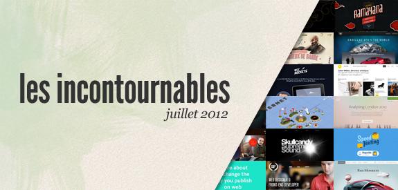 Webdesign Juillet