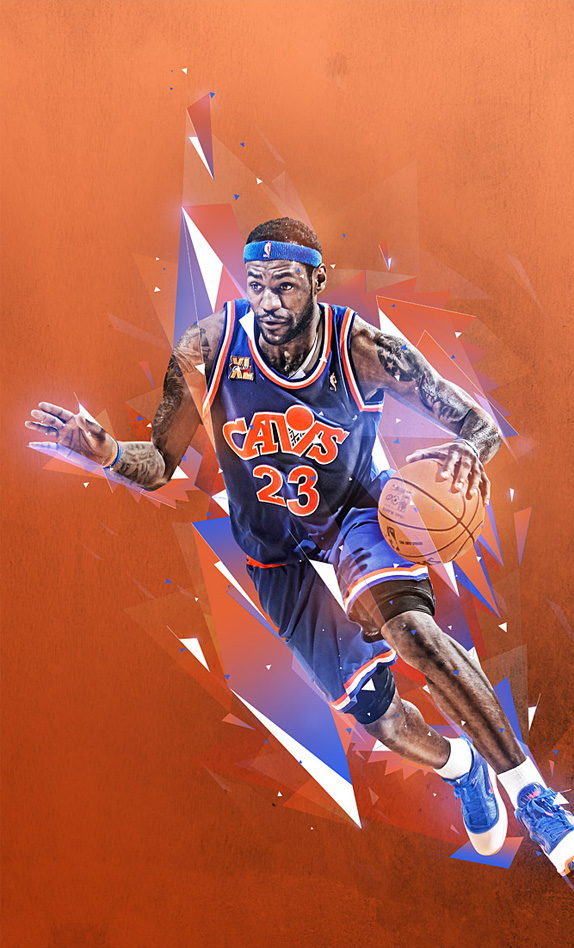 Mike harrison aka destill nouveau portfolio webdesigner for Interieur sport lebron james
