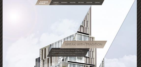 Webdesign inspiration septembre 2012