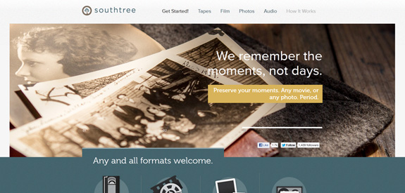 Webdesign inspiration septembre 2012