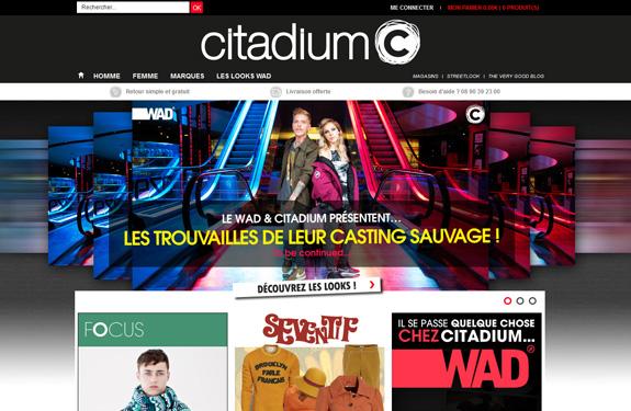 Ecommerce Citadium