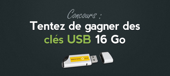 Concours cle USB