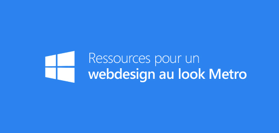 Ressources webdesign Metro