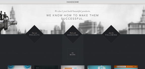 Webdesign inspiration janvier 2013