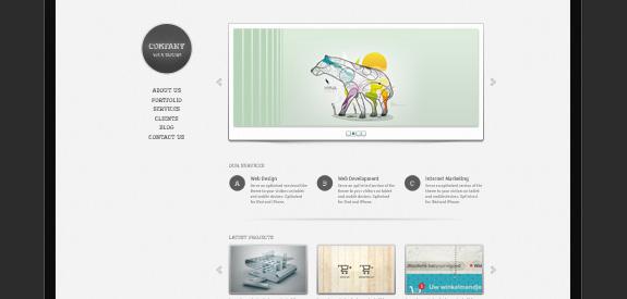 PSD gratuit webdesign
