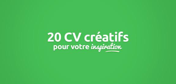 20 cv cr u00e9atifs pour votre inspiration
