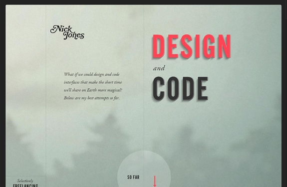 Exceptionnel 16 portfolios créatifs pour votre inspiration | Webdesigner Trends VK27