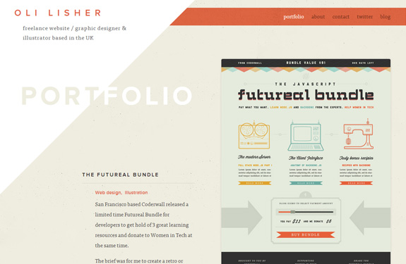 Portfolio webdesigner graphiste
