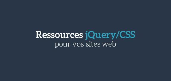 Ressources jQuery