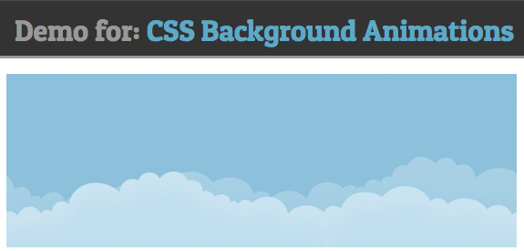 Animation background CSS