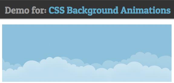Animation background CSS