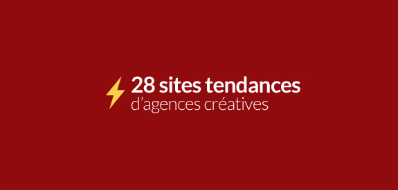 Sites tendances d'agences creatives