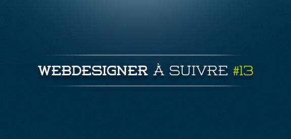 Webdesigner à suivre