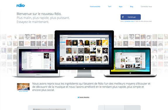 webdesign d'application web