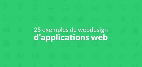 Webdesign d'application web