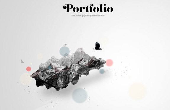 Exceptionnel 22 portfolios de webdesigners, graphistes et créatifs  VK27