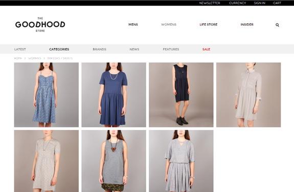 Inspiration e-commerce