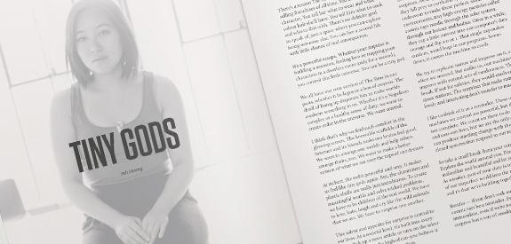 Magazine webdesign