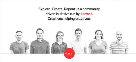 Explore. Create. Repeat.