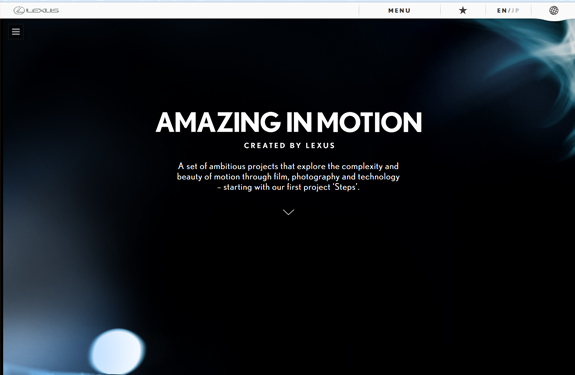 Inspiration webdesign septembre 2013