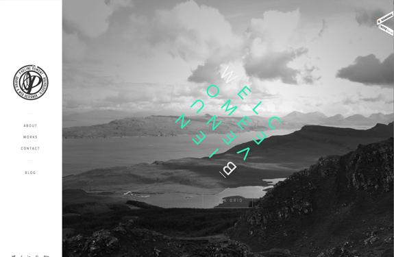 Portfolio inspiration webdesign
