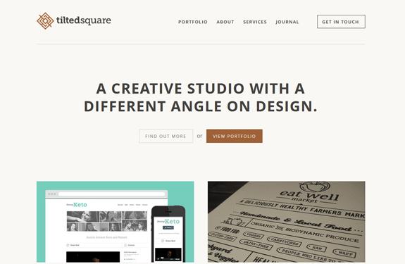 Elements encardrés webdesign inspiration