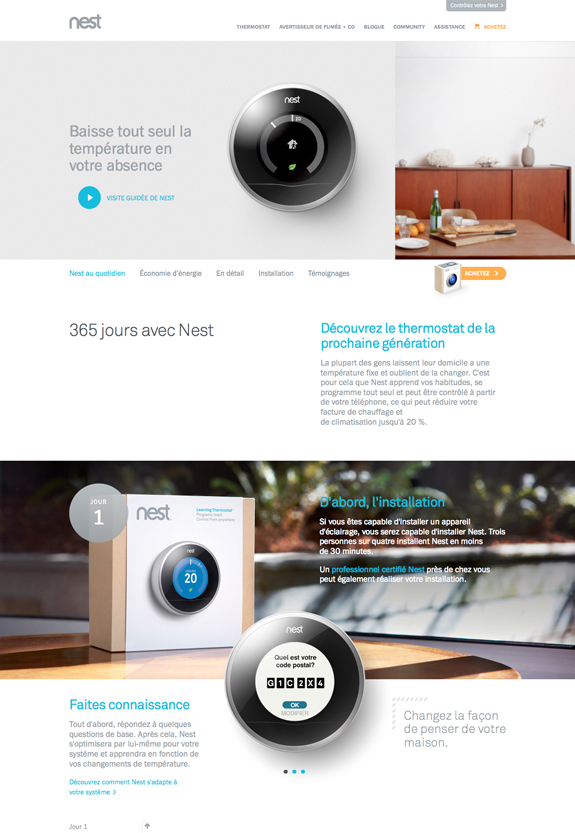 contraste webdesign
