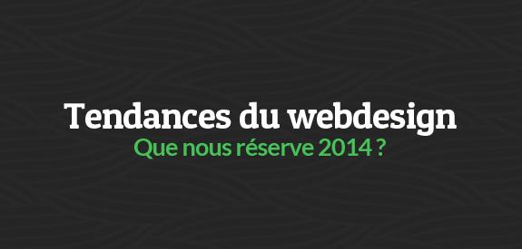 Tendances webdesign 2014