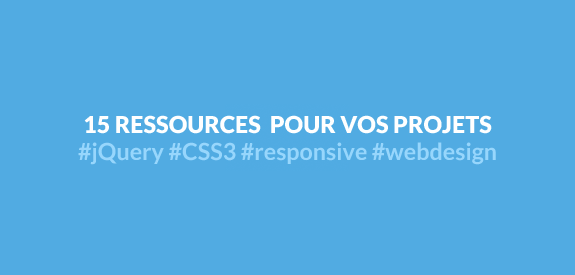 Ressources webdesign