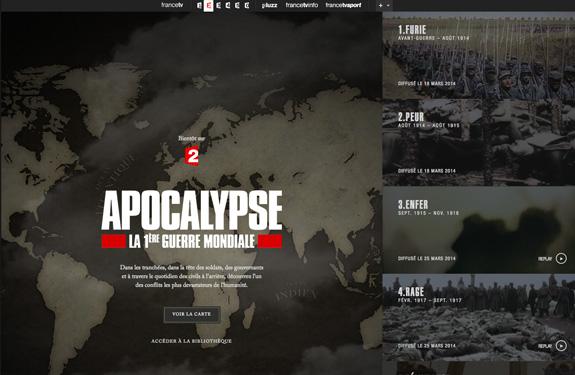 Inspiration Webdesign Mars 2014