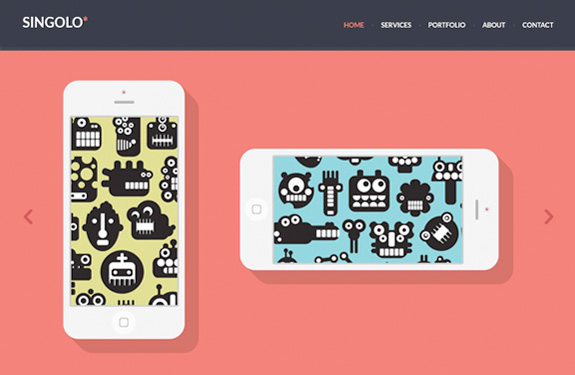 Template responsive webdesign