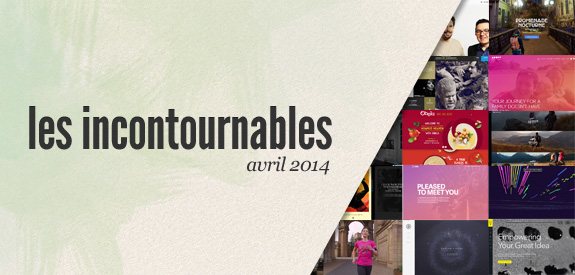 Incontournables avril 2014