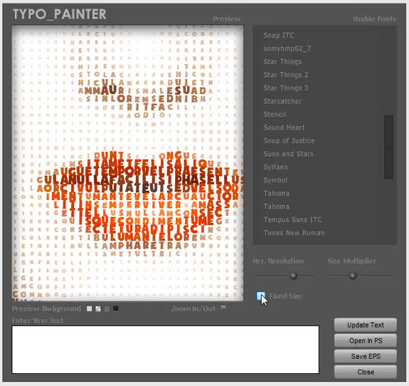 typo-painter